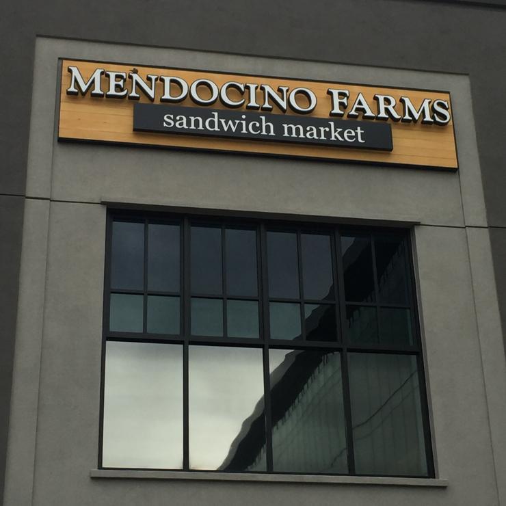 Vegan user review of Mendocino Farms in San Jose.