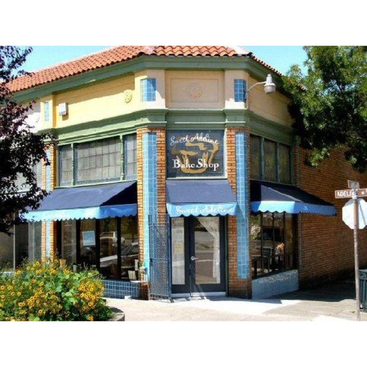 Vegan user review of Sweet Adeline Bakeshop in Berkeley.