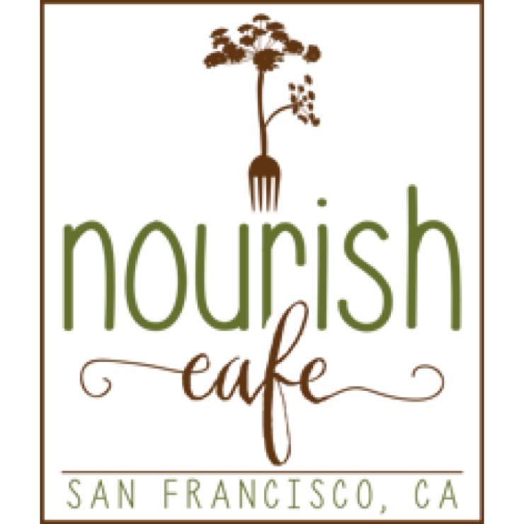 Vegan user review of Nourish Cafe in San Francisco.