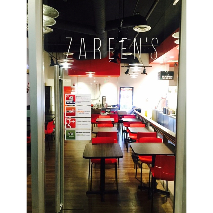 Vegan user review of Zareen's in Mountain View.
