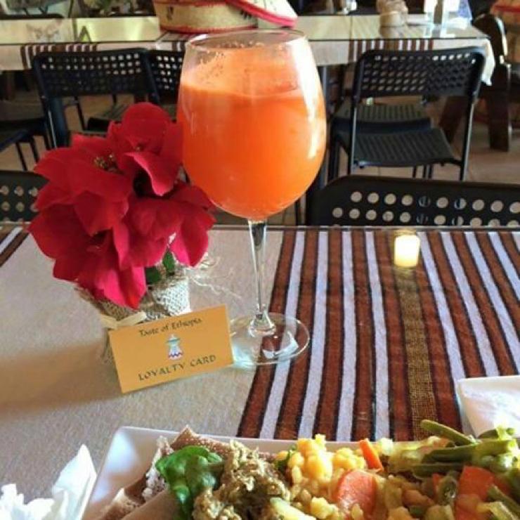 Vegan user review of Taste of Ethiopia in El Cerrito.