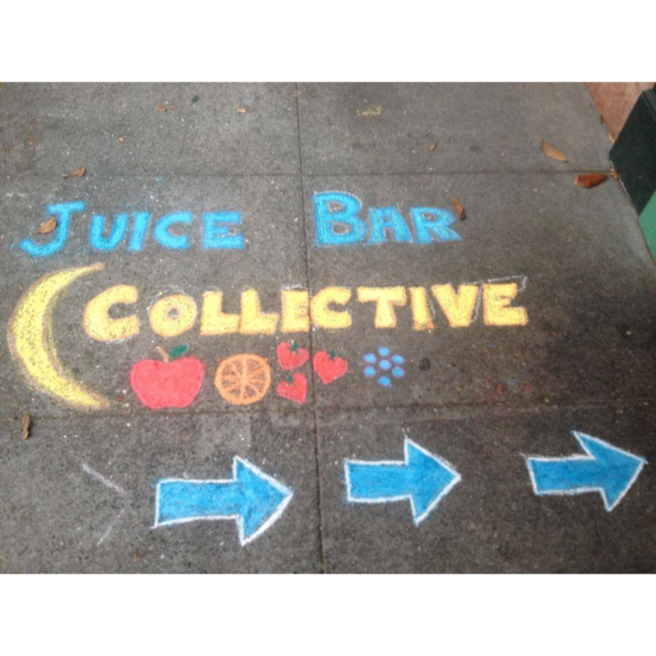 Vegan user review of Juice Bar Collective in Berkeley.