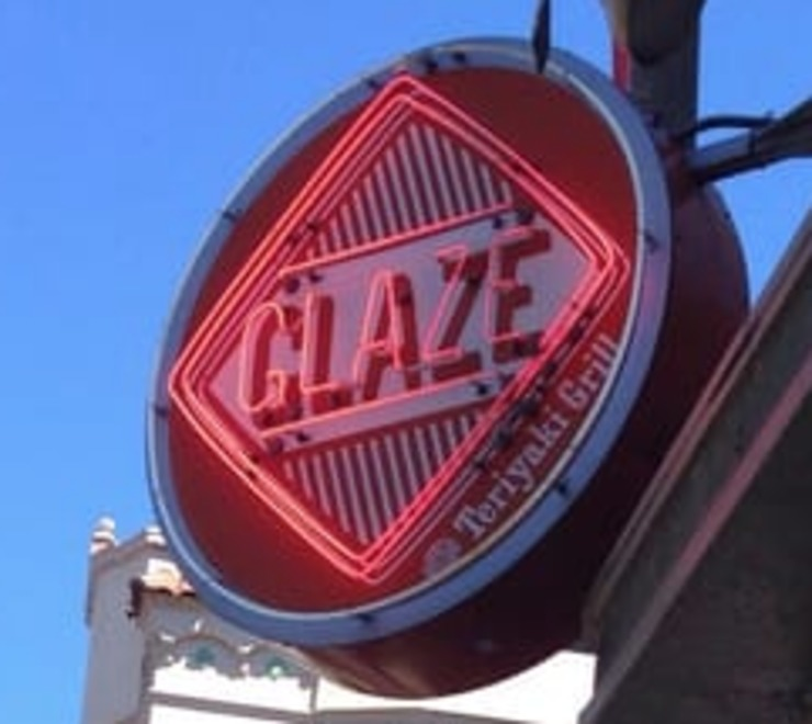 Vegan user review of Glaze Teriyaki in San Francisco.