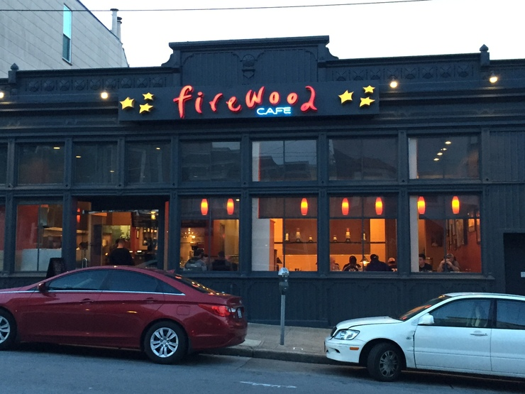 Vegan user review of Firewood Cafe in San Francisco.