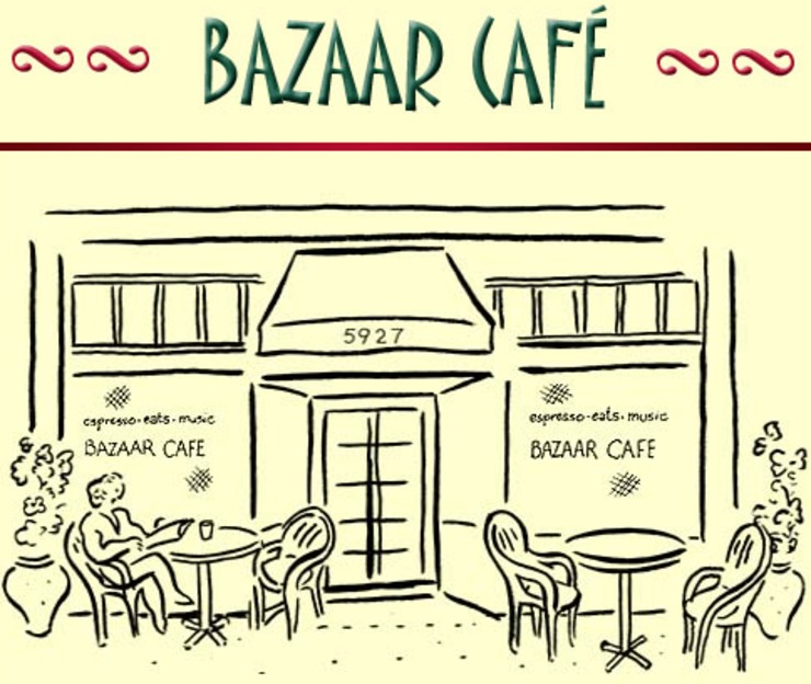 Vegan user review of Bazaar Cafe in San Francisco.