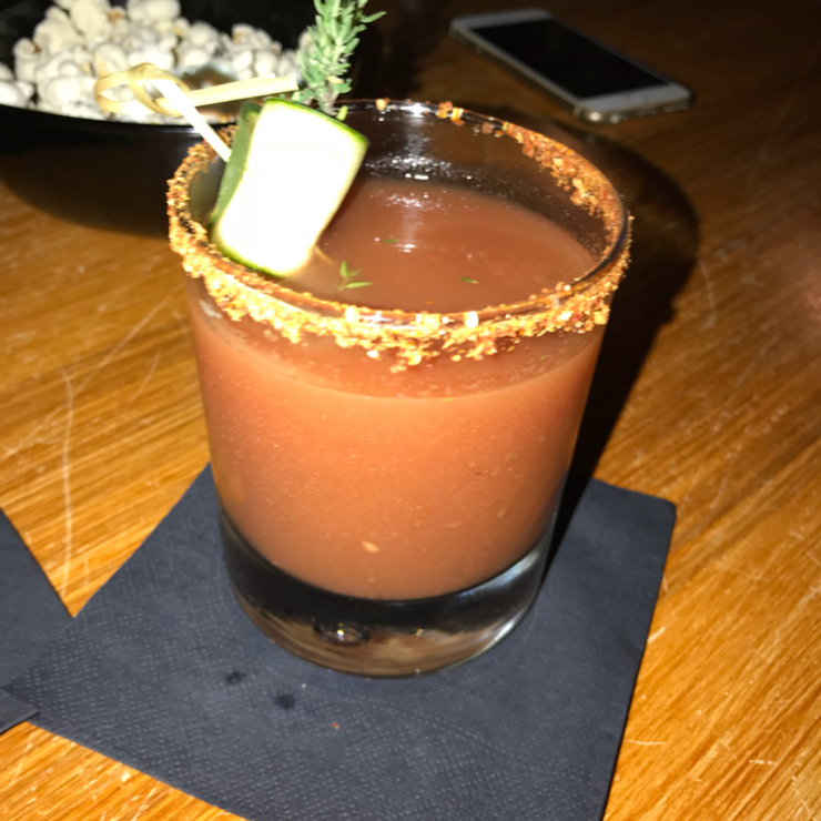 Vegan user review of Gørilla in Torino. Bloody Mary, their signature drink 🍸