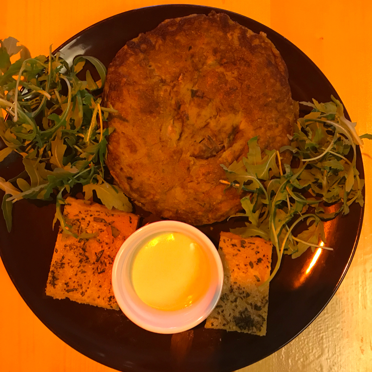 Vegan user review of Il Vegano - Firenze in Firenze. Chickpeas pancake.