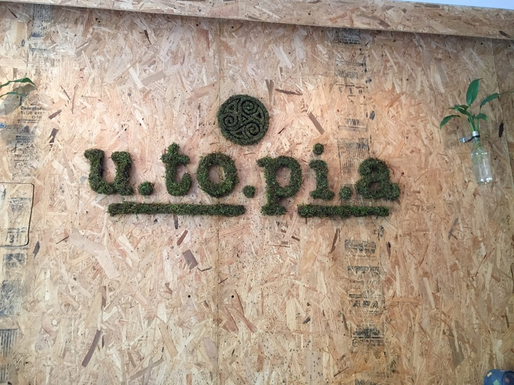 Vegan user review of Utopia in Mexico City.