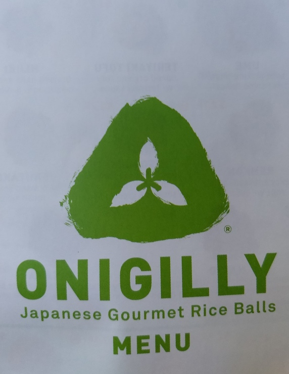 Vegan user review of Onigilly in Palo Alto.