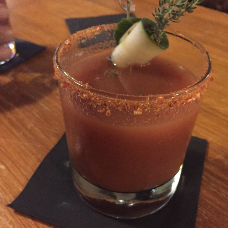 Vegan user review of Gørilla in Torino. Bloody Mary. Fresh tomato juice with a nice kick!