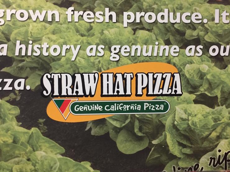 Vegan user review of Straw Hat Pizza in Half Moon Bay.