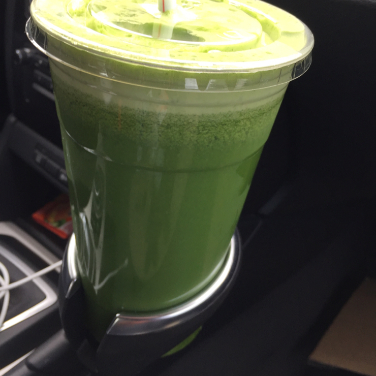 Vegan user review of Sips! in Hermitage. 32oz green juice for just $9.