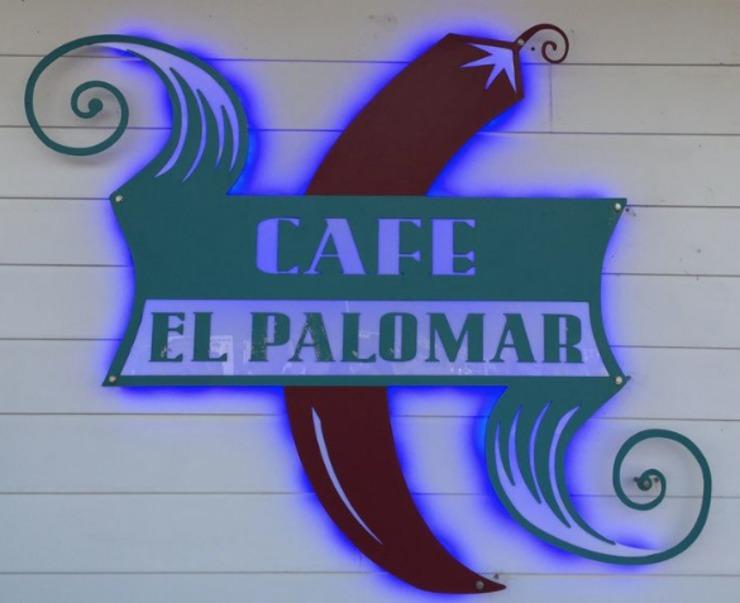 Vegan user review of Cafe El Palomar in Santa Cruz.