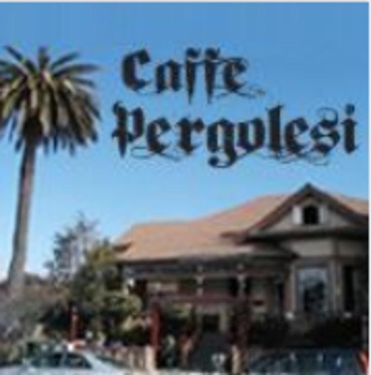 Vegan user review of Caffe Pergolesi in Santa Cruz.