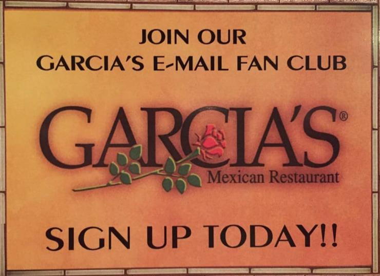 Vegan user review of Garcia's Mexican Restaurant in Carmichael.