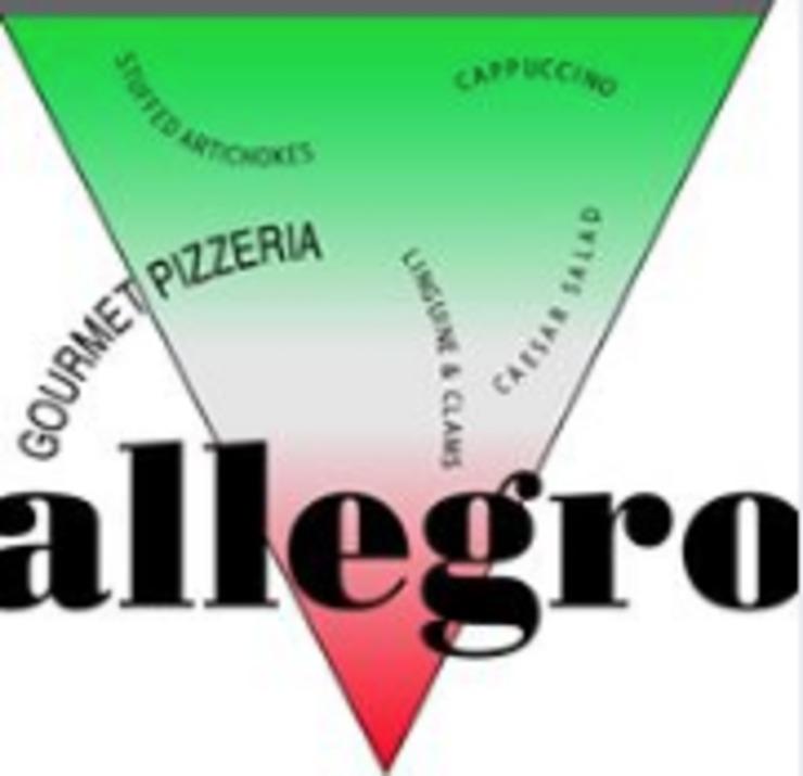 Vegan user review of Allegro Gourmet Pizzeria in Carmel.