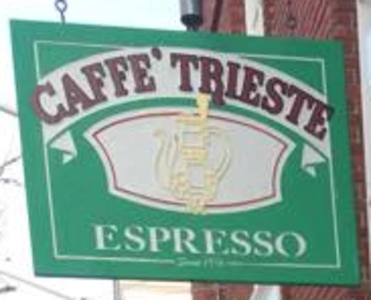 Vegan user review of Caffe Trieste in Monterey.