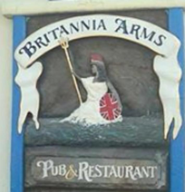 Vegan user review of Britannia Arms Pub & Restaurant in Monterey.