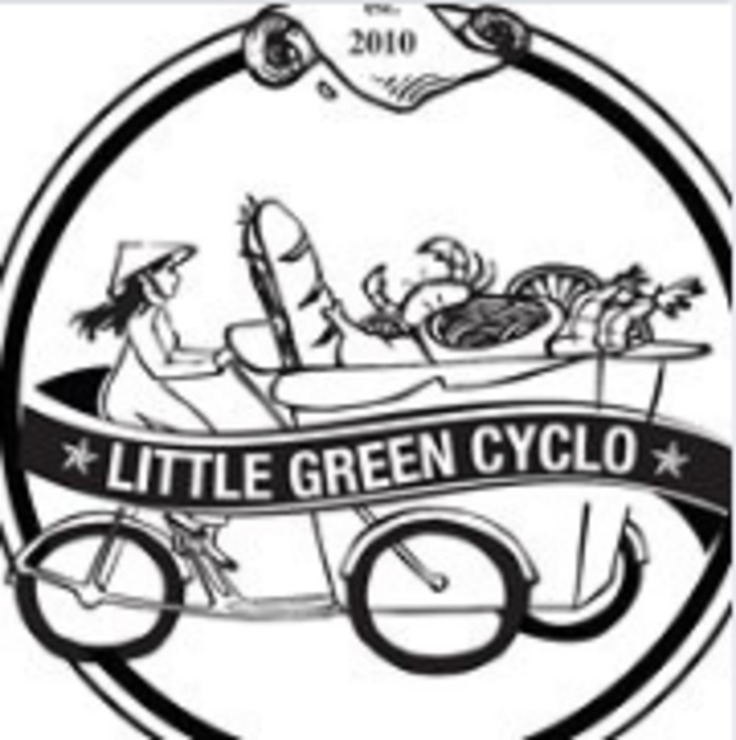Vegan user review of Little Green Cyclo in San Francisco.