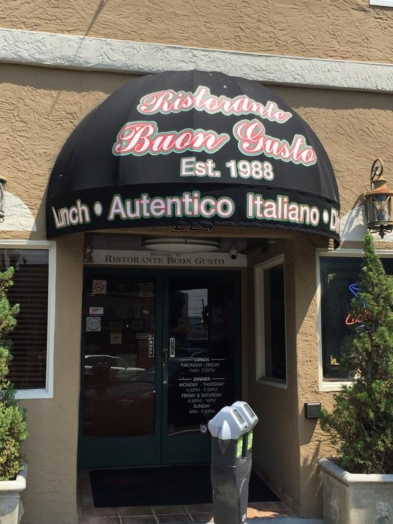 Vegan user review of Ristorante Buon Gusto in South San Francisco.