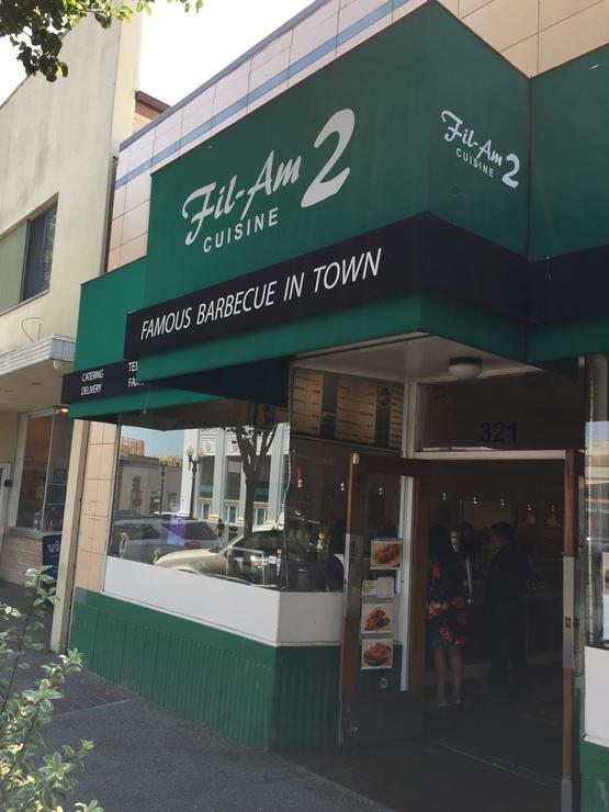 Vegan user review of Fil-Am Cuisine 2 in South San Francisco.