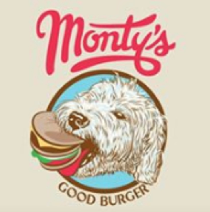Vegan user review of Monty's Good Burger in Riverside.