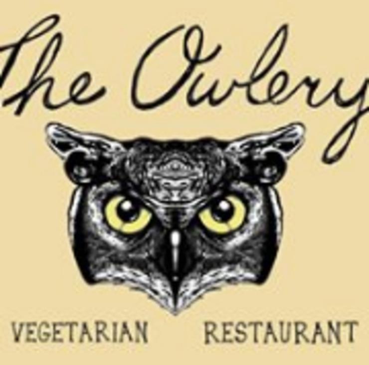 Vegan user review of The Owlery Restaurant in Bloomington.