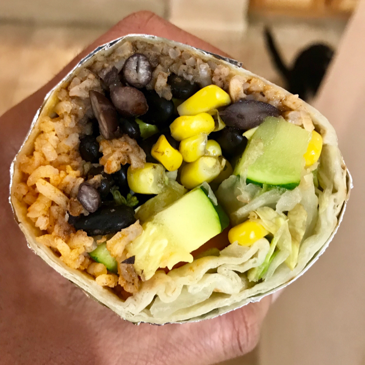Vegan user review of Bravo Taqueria (Redwood City) in Redwood City. The burrito was fresh and tasty. The restaurant does understand what Vegan is so they will give you a burrito with veggies, beans  and rice.