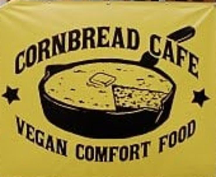 Vegan user review of Cornbread Cafe in Eugene.
