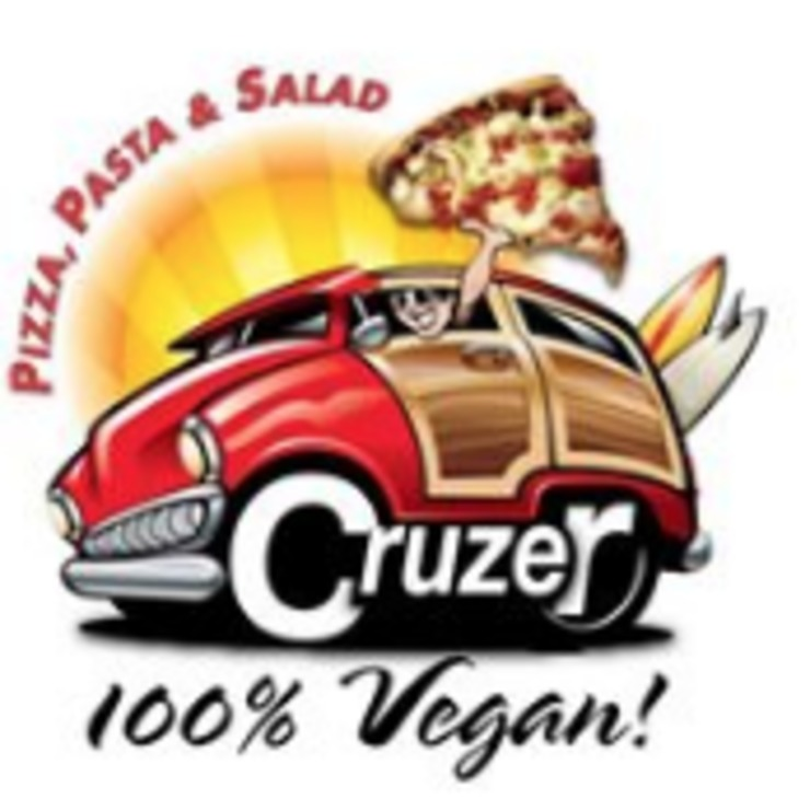 Vegan user review of Cruzer Pizza in Los Angeles.