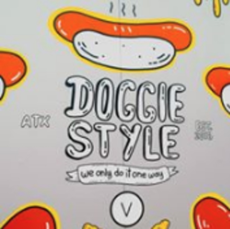 Vegan user review of Doggie Style in Austin.