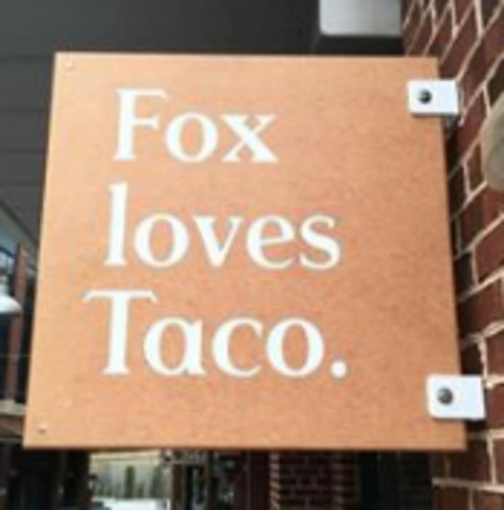 Vegan user review of Fox Loves Taco in Washington, DC.