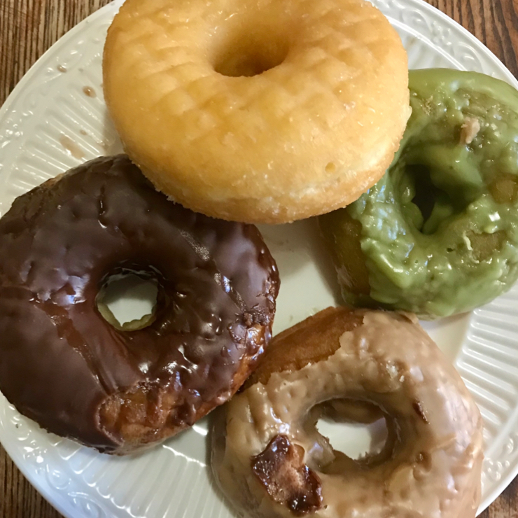 Vegan user review of Vegan Donut and Cafe in San Jose. Delicious donuts 🍩