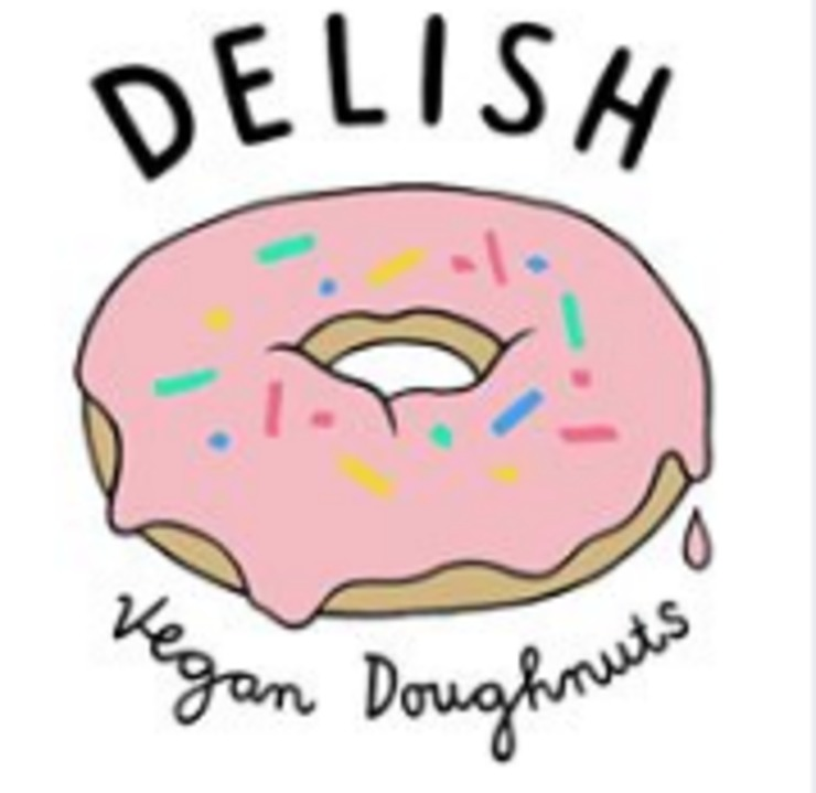 Vegan user review of Delish Vegan Doughnuts in Madrid.
