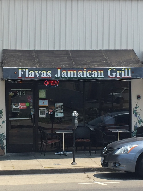 Vegan user review of Flavas Jamaican Grill in South San Francisco.
