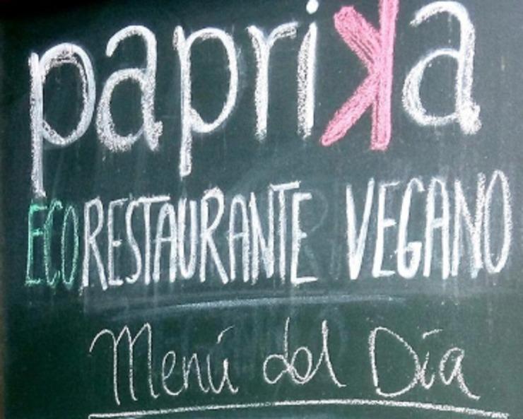 Vegan user review of Restaurante Páprika in Granada.