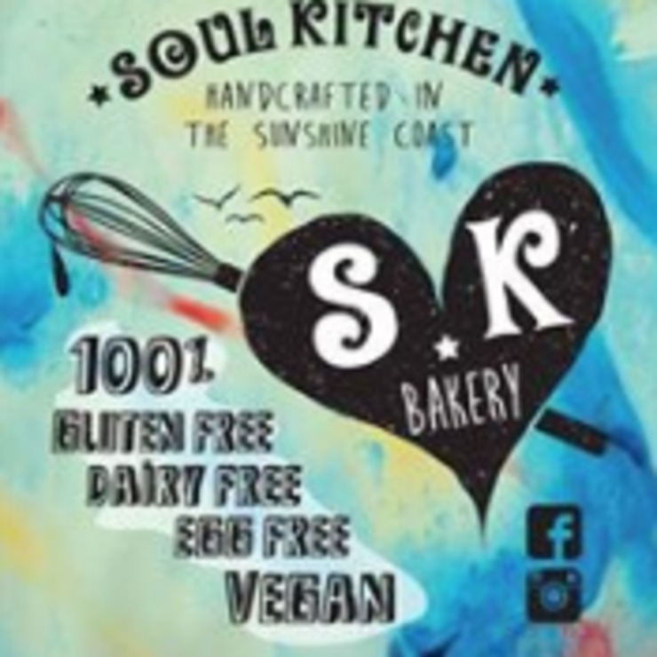 Vegan user review of soul kitchen bakery in Caloundra West.
