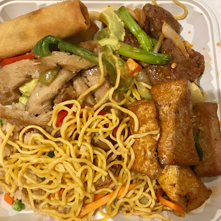 Vegan user review of Loving Hut in Milpitas. Pay by weight buffet at the new Loving Hut in the Great Mall. The food was fresh and tasty. They have a decent variety of Asian vegan food at the buffet 🌱 😋 💝 🍜 🥗