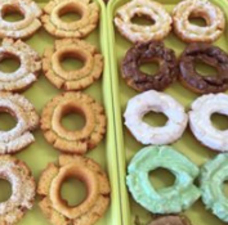 Vegan user review of Vegan Donut & Gelato in Houston.