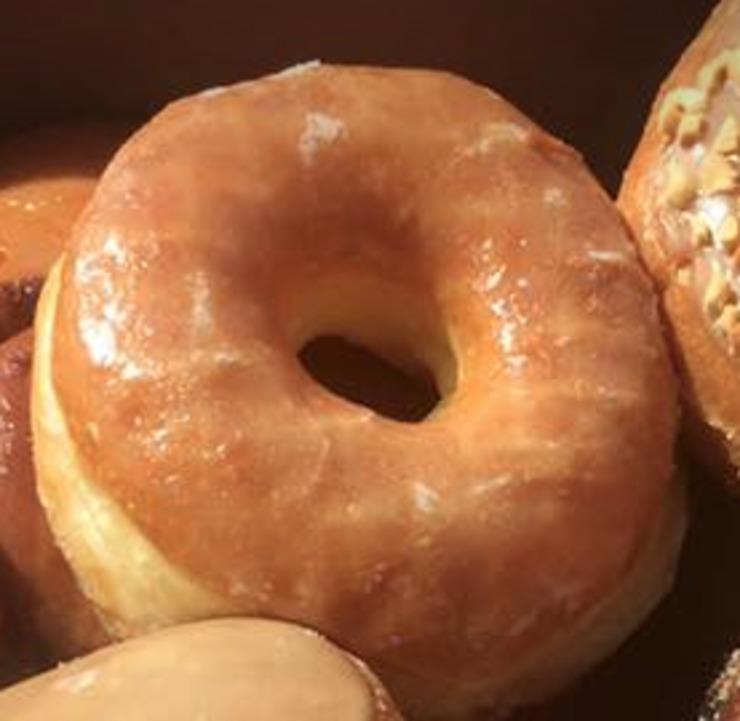 Vegan user review of Ronald's Donuts in Las Vegas.