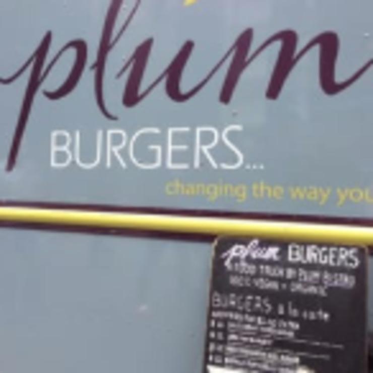 Vegan user review of Plum Burgers - Food Truck in Seattle.
