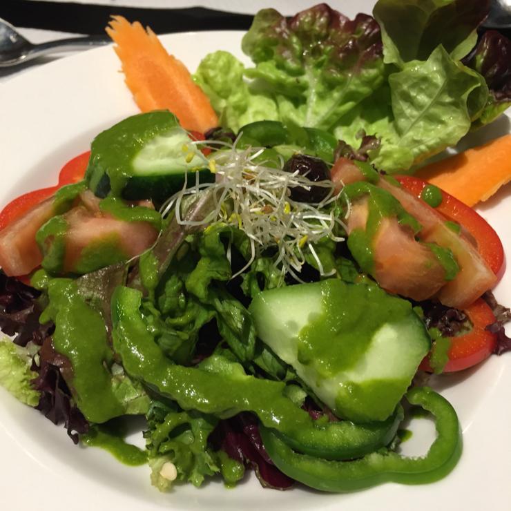 Vegan user review of Veggie Garden - Corts Catalanes in Barcelona.