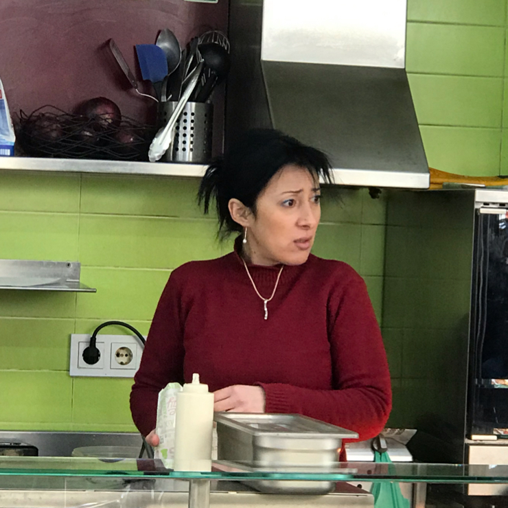 Vegan user review of Falafel Vegano in Barcelona. Amazing falafels. They make fresh falafels everyday. It normally contains cilantro but the kind owner whipped up a special batch for me sans cilantro