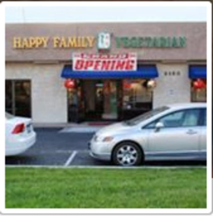 Vegan user review of Happy Family Vegetarian in San Bernardino.