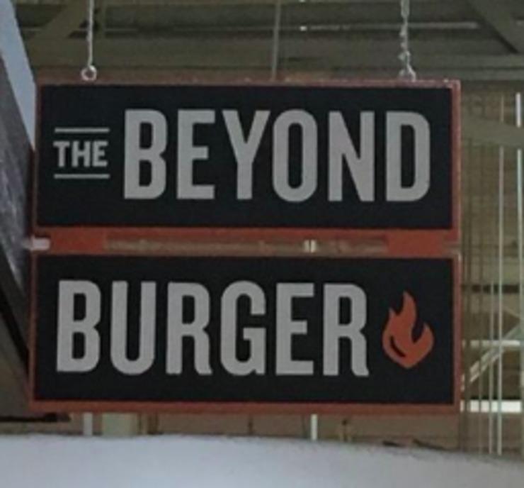 Vegan user review of Beyond Burger Bar in Boulder.