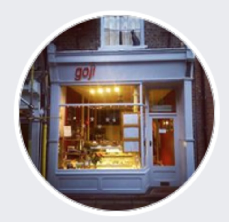 Vegan user review of Goji Cafe Vegetarian Cafe & Deli in York.