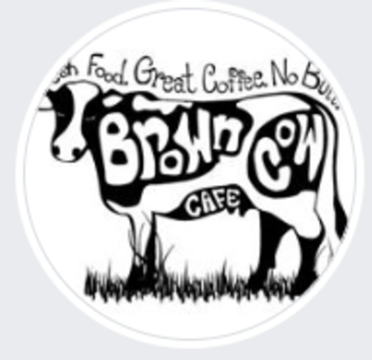 Vegan user review of The Brown Cow Cafe in Bennington.