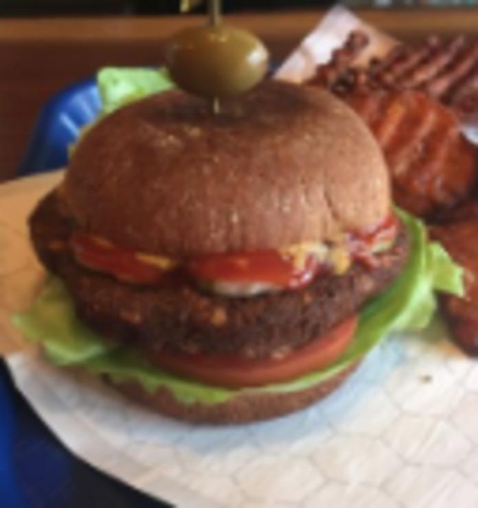 Vegan user review of American Vegan in Brooklyn.