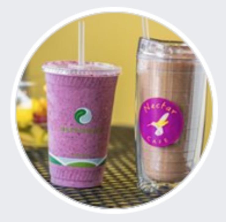 Vegan user review of Nectar Cafe in Auburn.