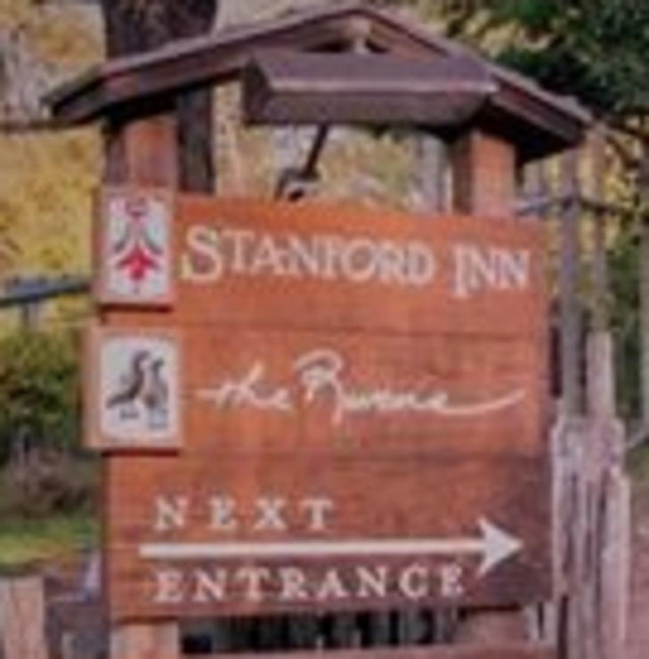 Vegan user review of The Stanford Inn by the Sea Eco-Resort in Mendocino.